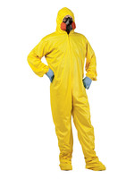 Hazmat Suit & Mask - Adult