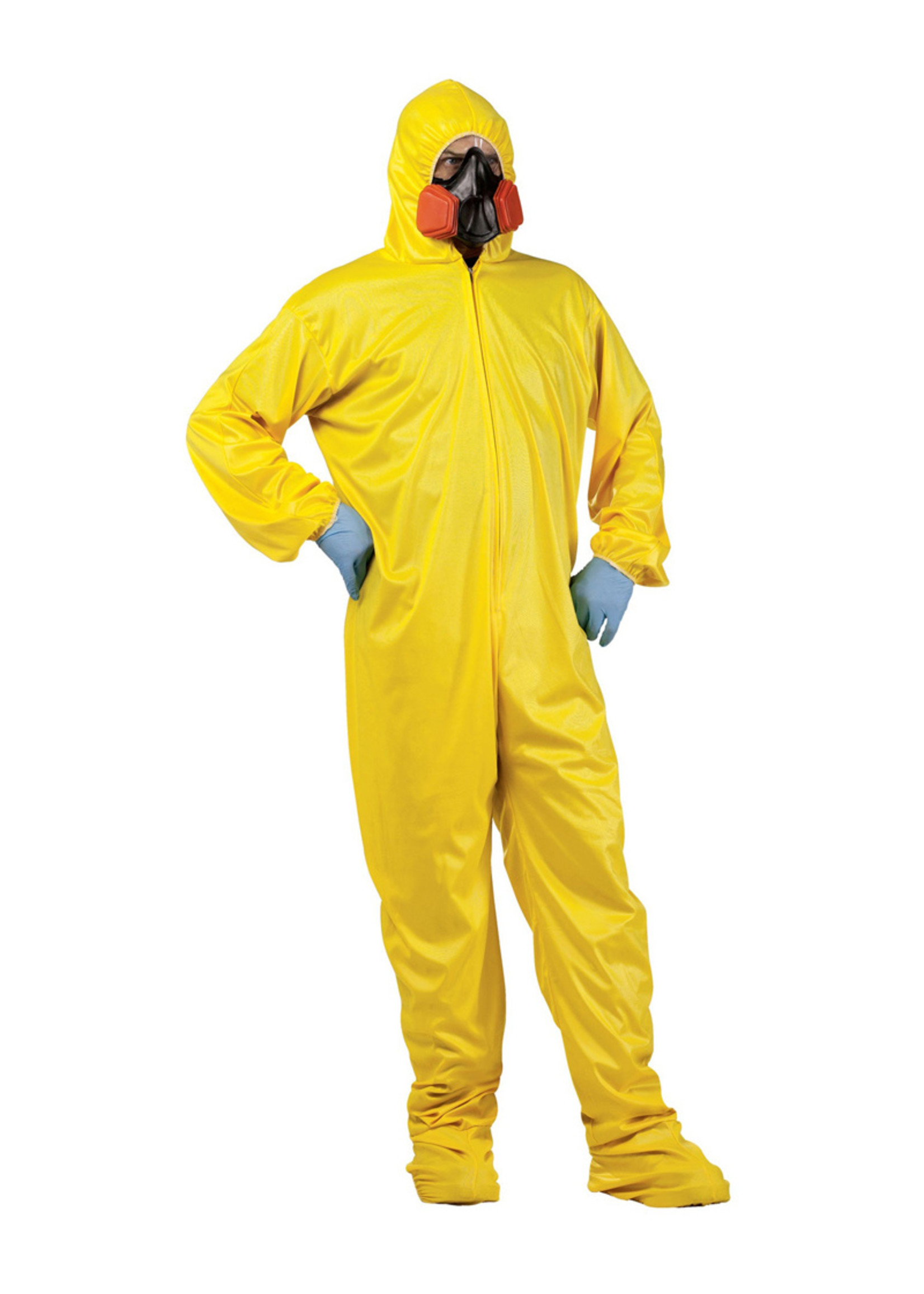 Hazmat Suit & Mask - Adult