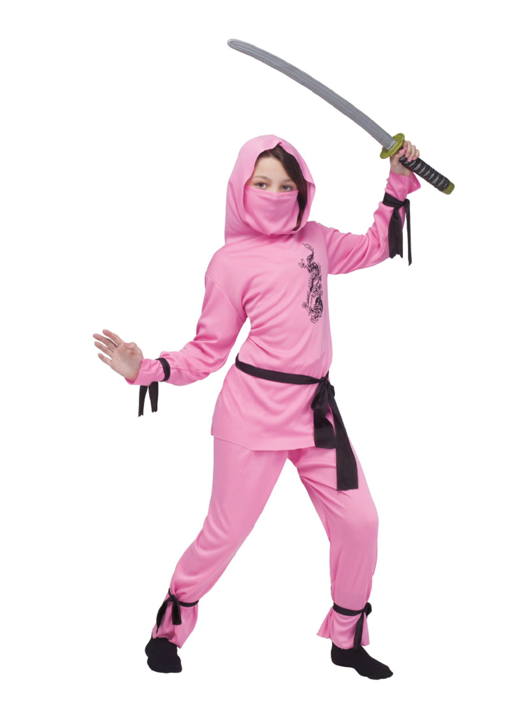 FUN WORLD Pink Ninja - Girls