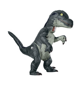 RUBIES Inflatable Velociraptor  w/ Sound - Adult