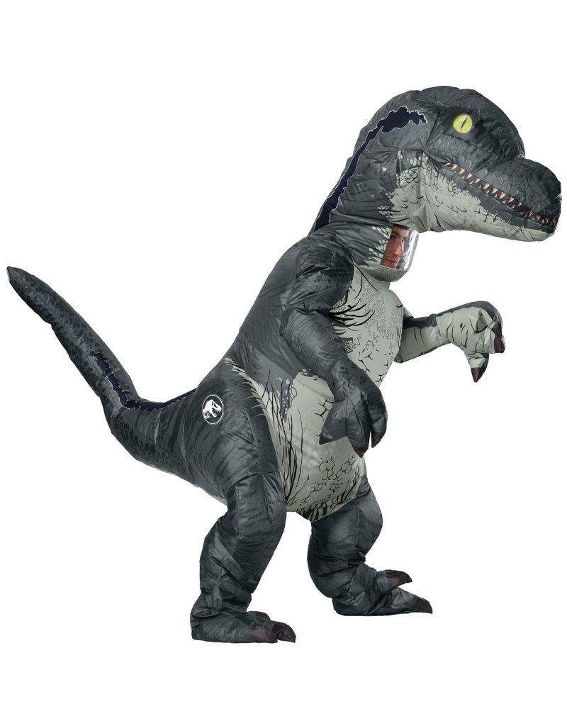 Inflatable Velociraptor  w/ Sound - Adult