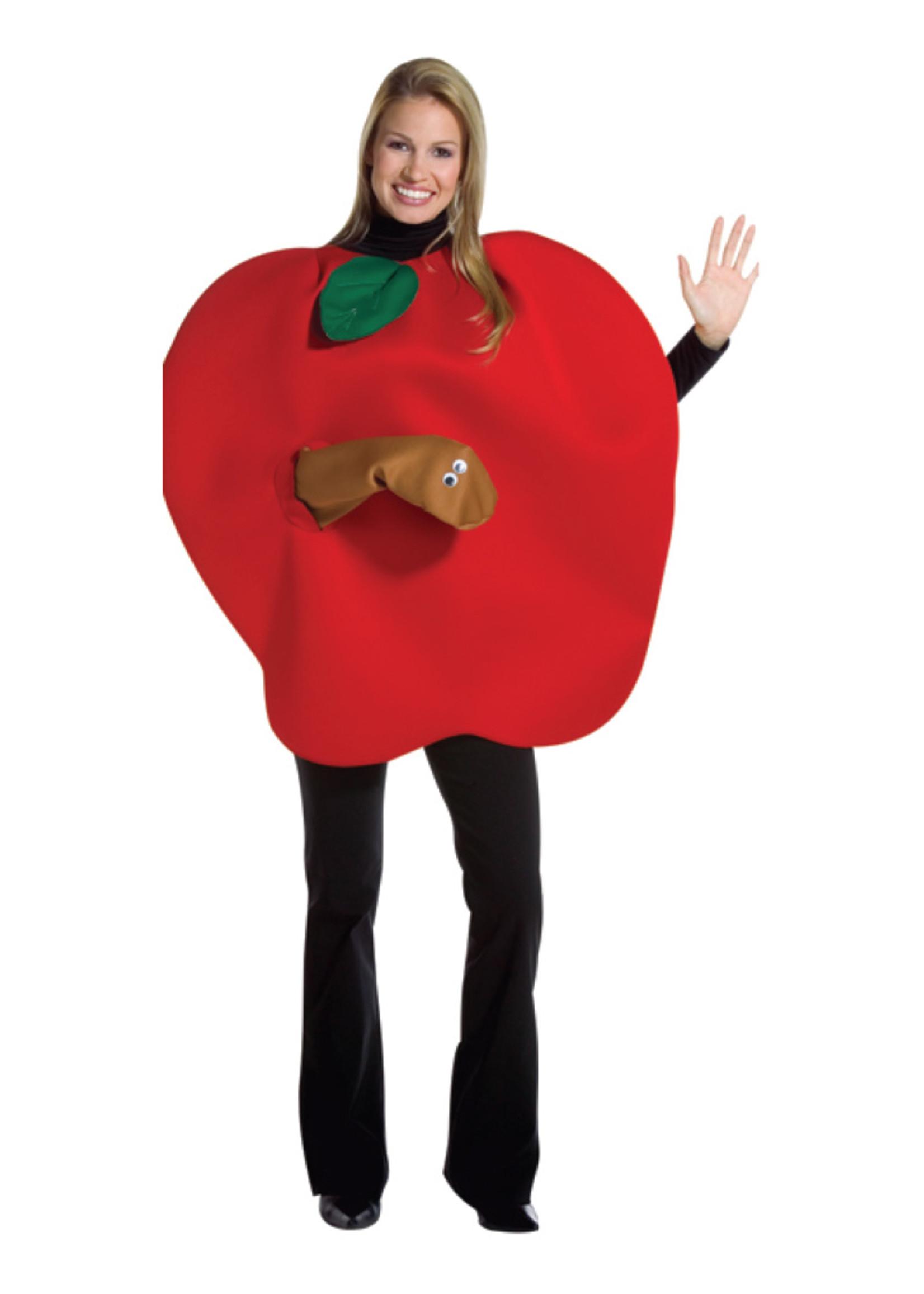 Apple w/ Worm Costume - Adult
