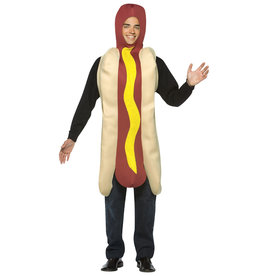 Hot Dog Costume - Adult