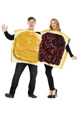 Peanut Butter and Jelly Costume - Adult