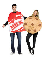 FUN WORLD Cookies and Milk Costume - Adult