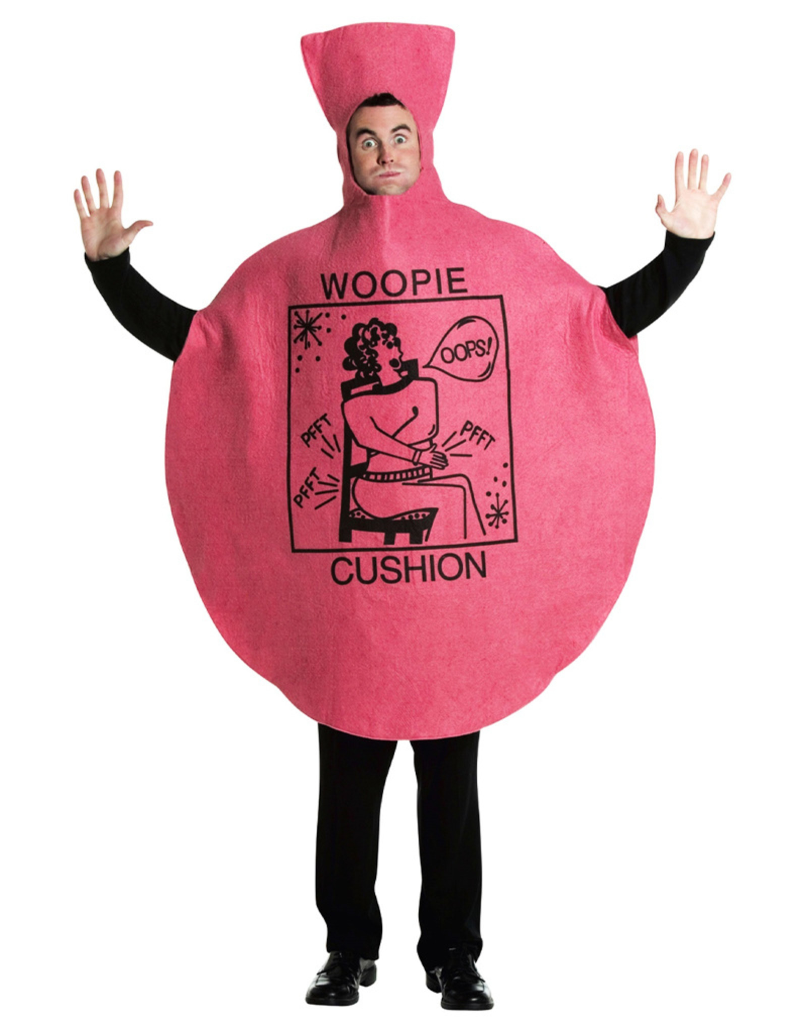 Whoopie Cushion Costume - Adult