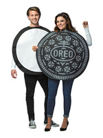 Oreo Cookie Couples Costume - Adult