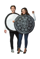 Oreo Cookie Couples Costume - Adult