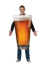 Pint Of Beer Costume - Adult