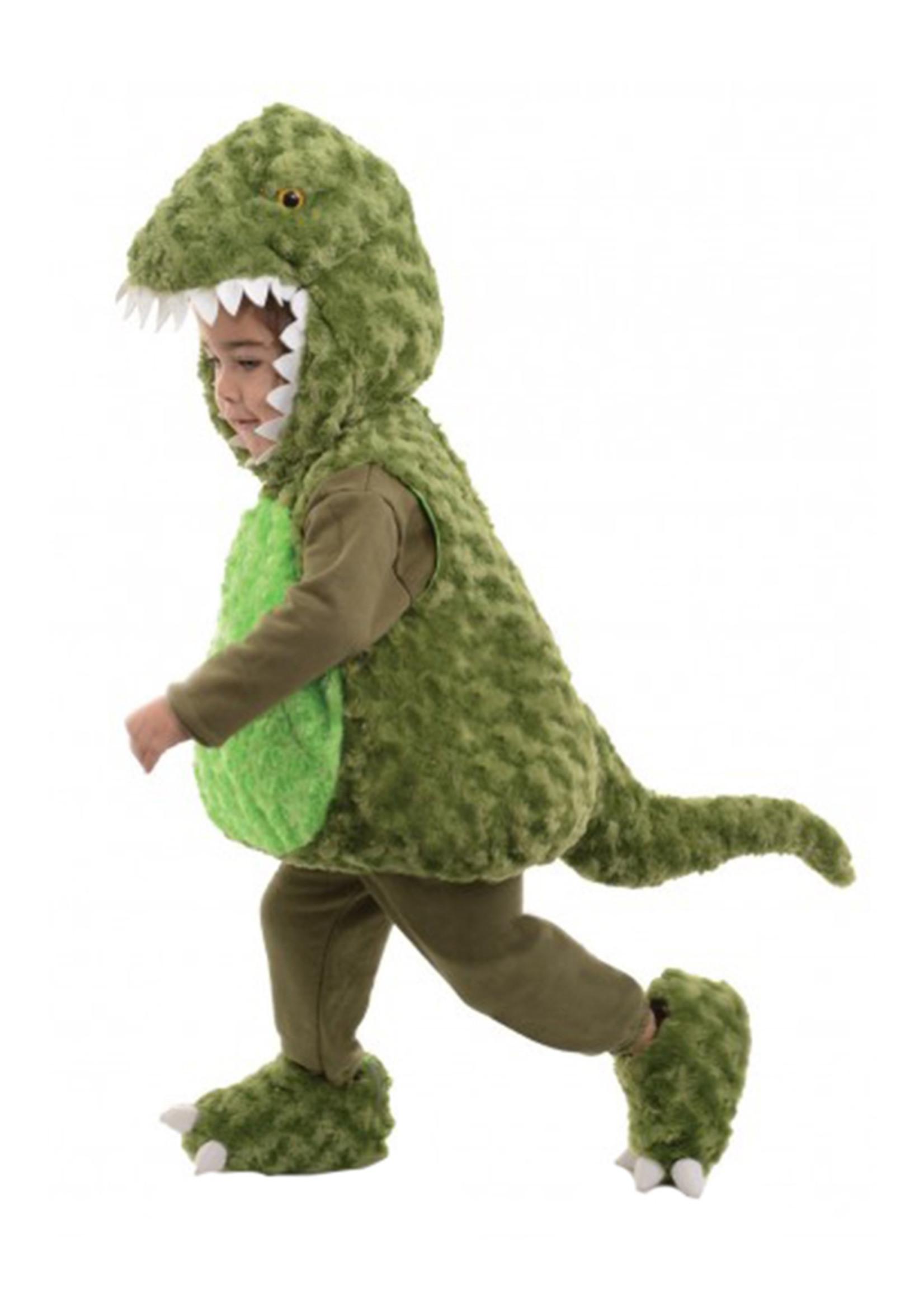 UNDERWRAPS Green T-Rex Bubble Costume - Toddler