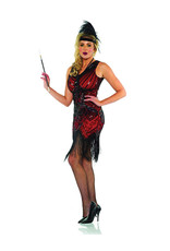 UNDERWRAPS Scarlet Dress Costume - Women