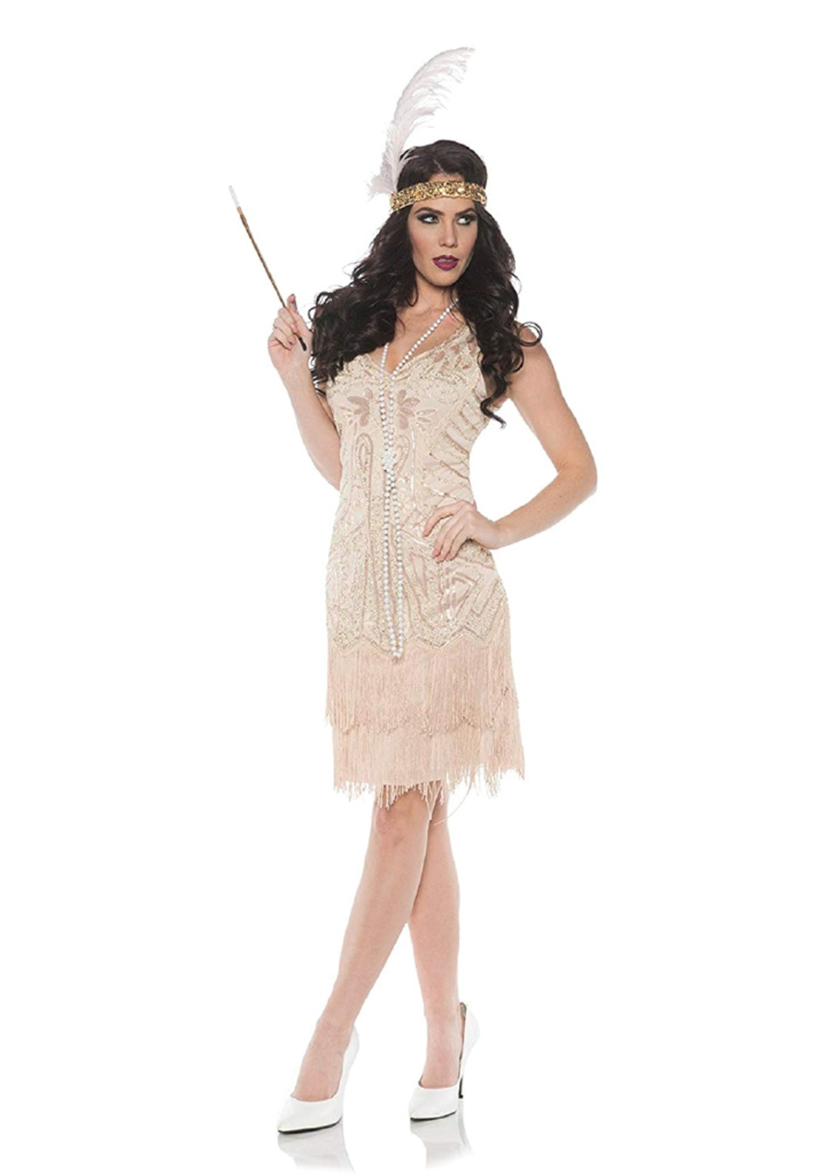 UNDERWRAPS Rose Dress Costume - Women