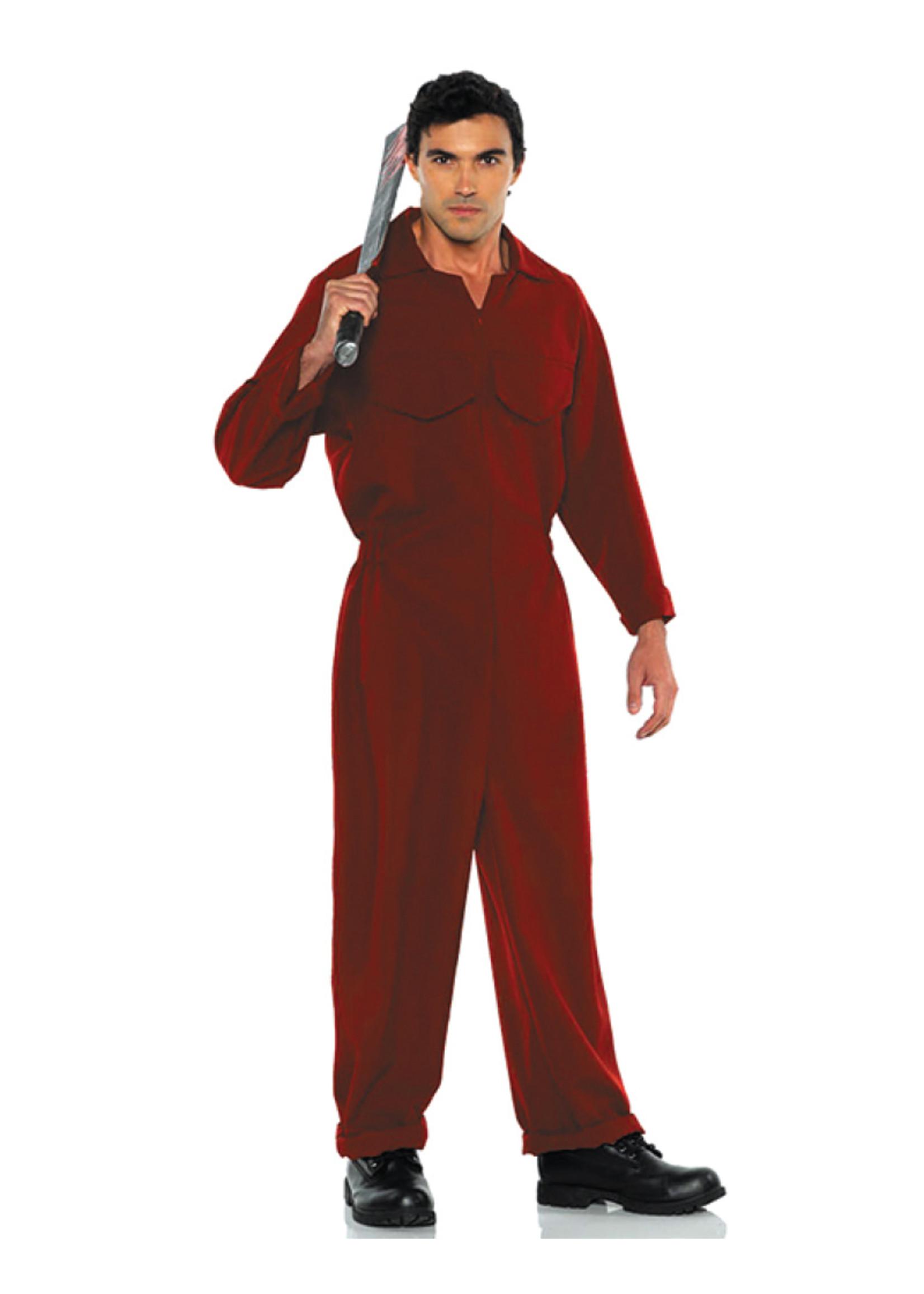 Boiler Red Suit - Men