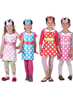 Minnie Mouse Helpers Party Wearable Kit - 8ct