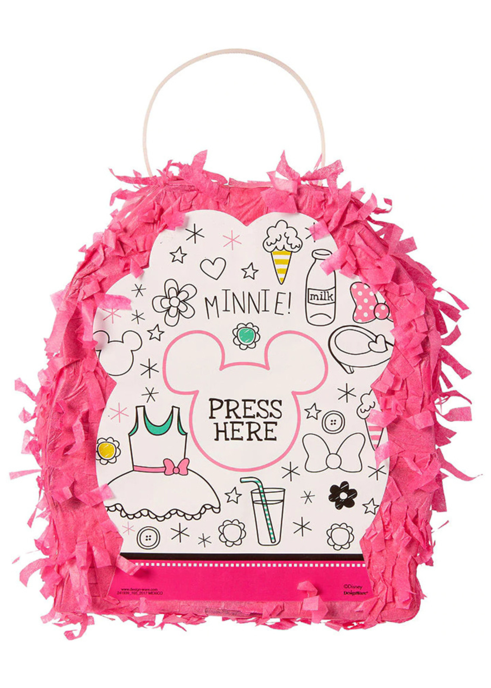 Minnie Mouse Pinata Favor Container