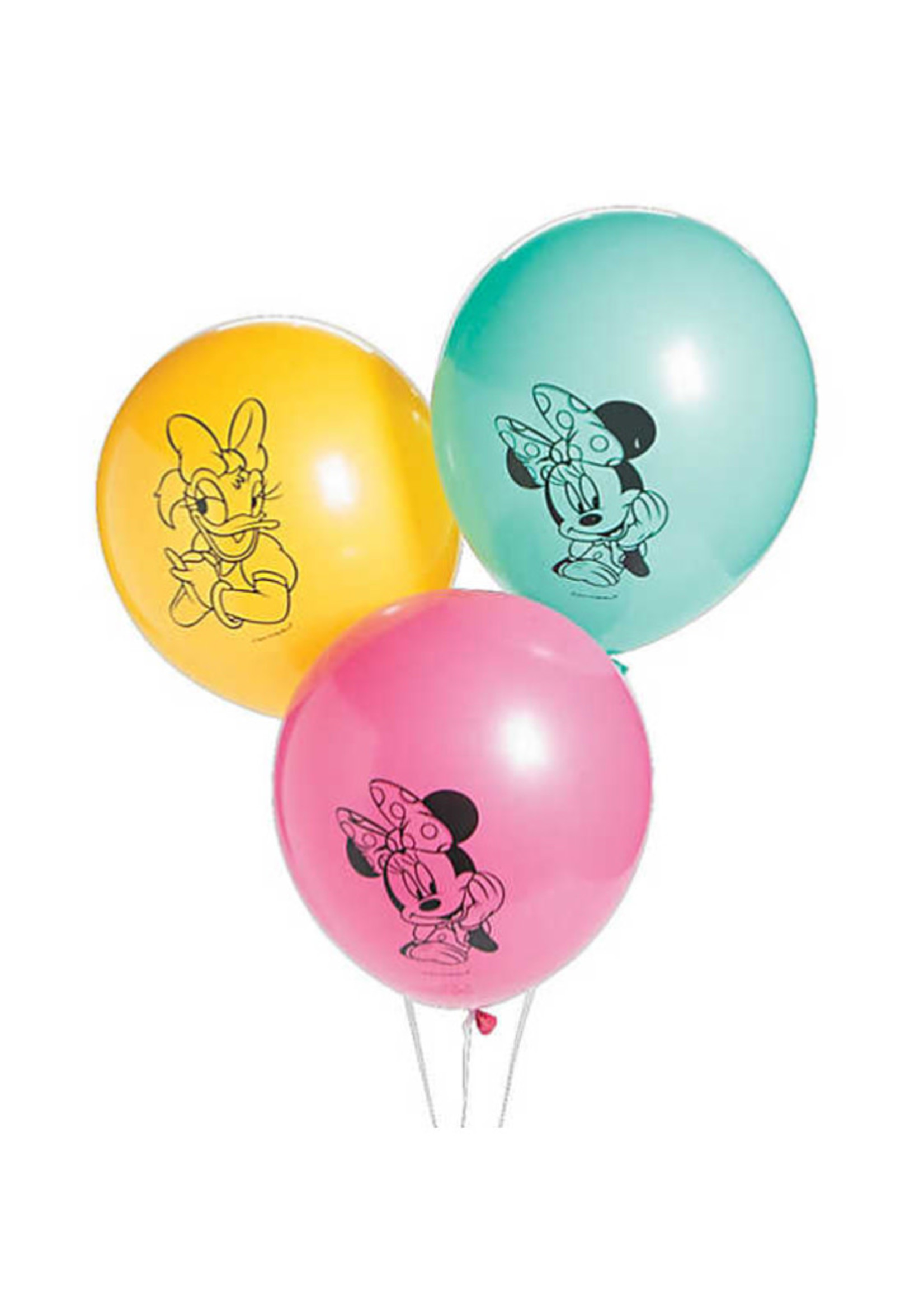 "Minnie Mouse Happy Helpers 12"" Latex Balloons - 6ct"