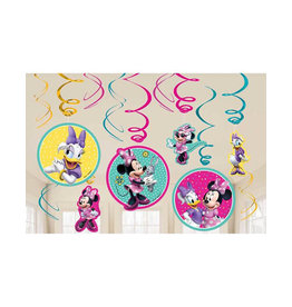 Minnie Mouse Happy Helpers Danglers - 12ct