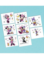 Minnie Mouse Helpers Temp Tattoos - 8ct
