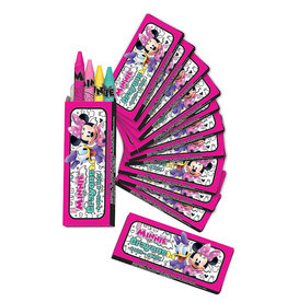 Minnie Mouse Crayons 12ct
