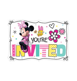 Minnie Mouse Invitations - 8ct