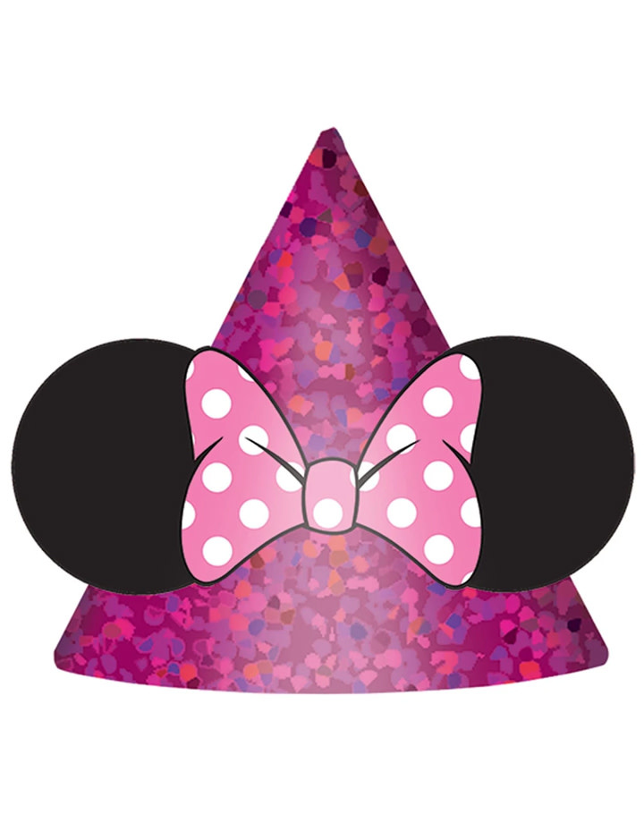 Minnie Mouse Happy Helpers Party Hats - 8ct