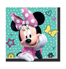 Minnie Mouse Happy Helpers Beverage Napkins - 16ct