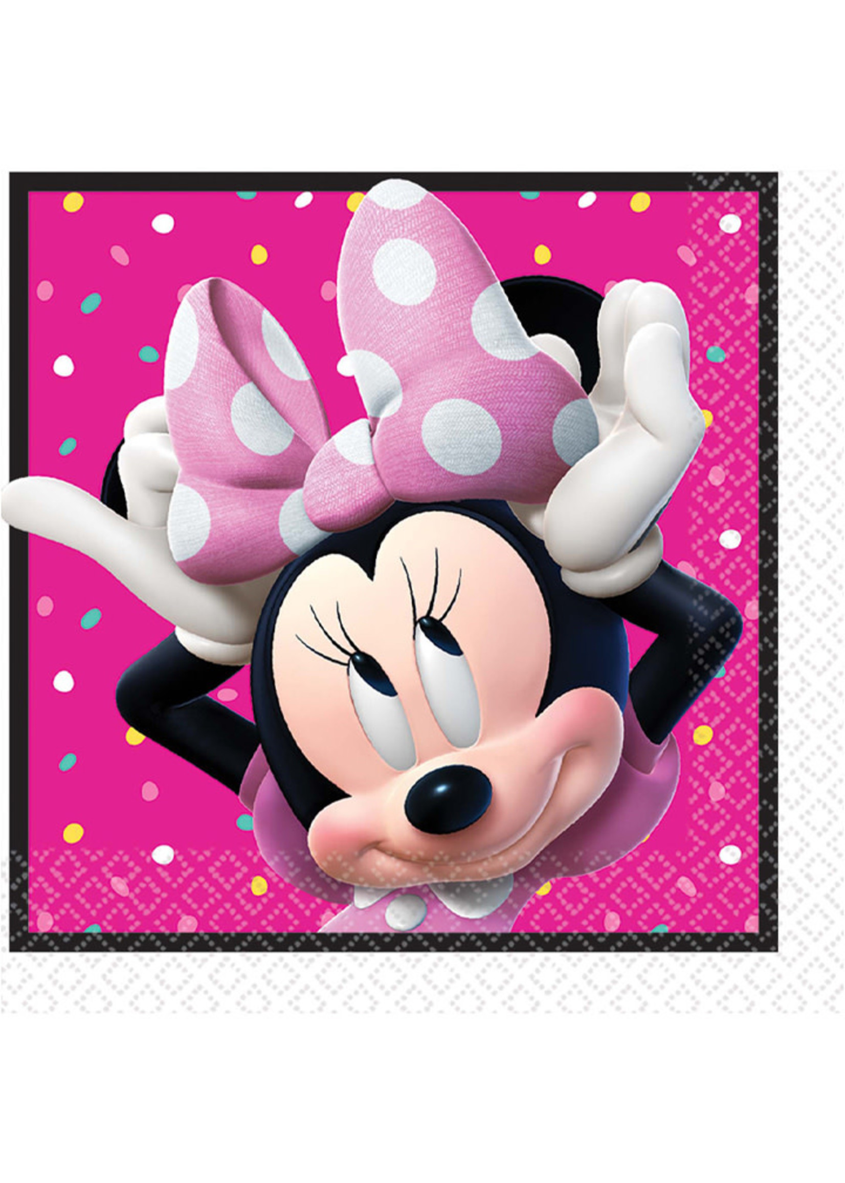 Minnie Mouse Happy Helpers Luncheon Napkins - 16ct