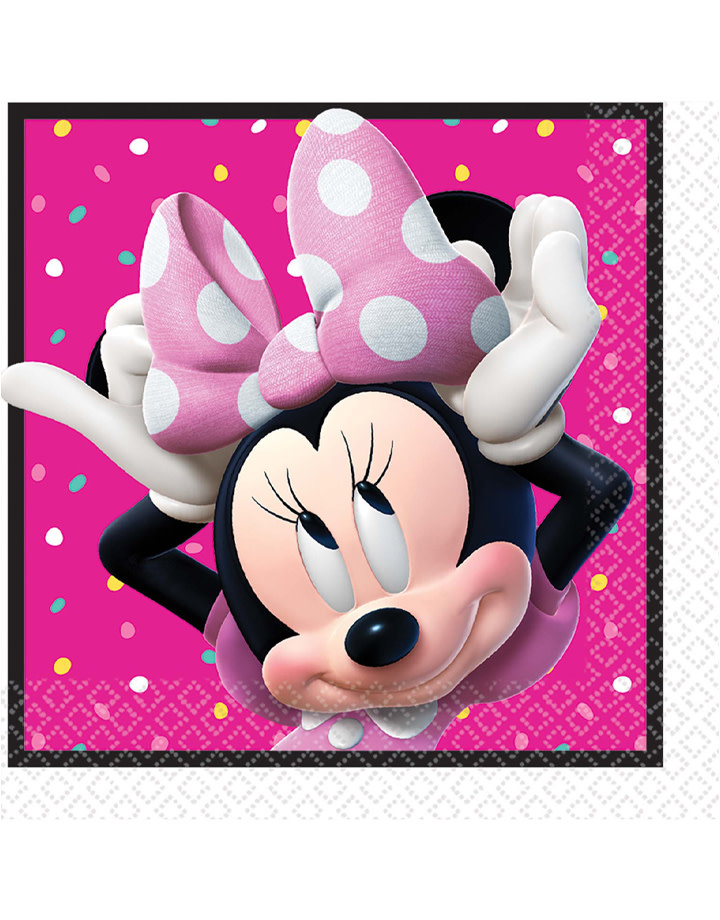 Minnie Mouse Happy Helpers Luncheon Napkins 16ct Party On