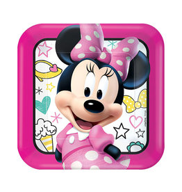 Minnie Mouse Happy Helpers Lunch Plates - 8ct