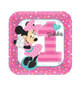 Minnie's Fun to Be One Dessert Plates - 8ct