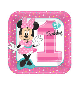 Minnie's Fun to Be One Luncheon Plates - 8ct