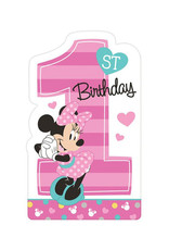Minnie's Fun To Be One Invitations - 8 ct