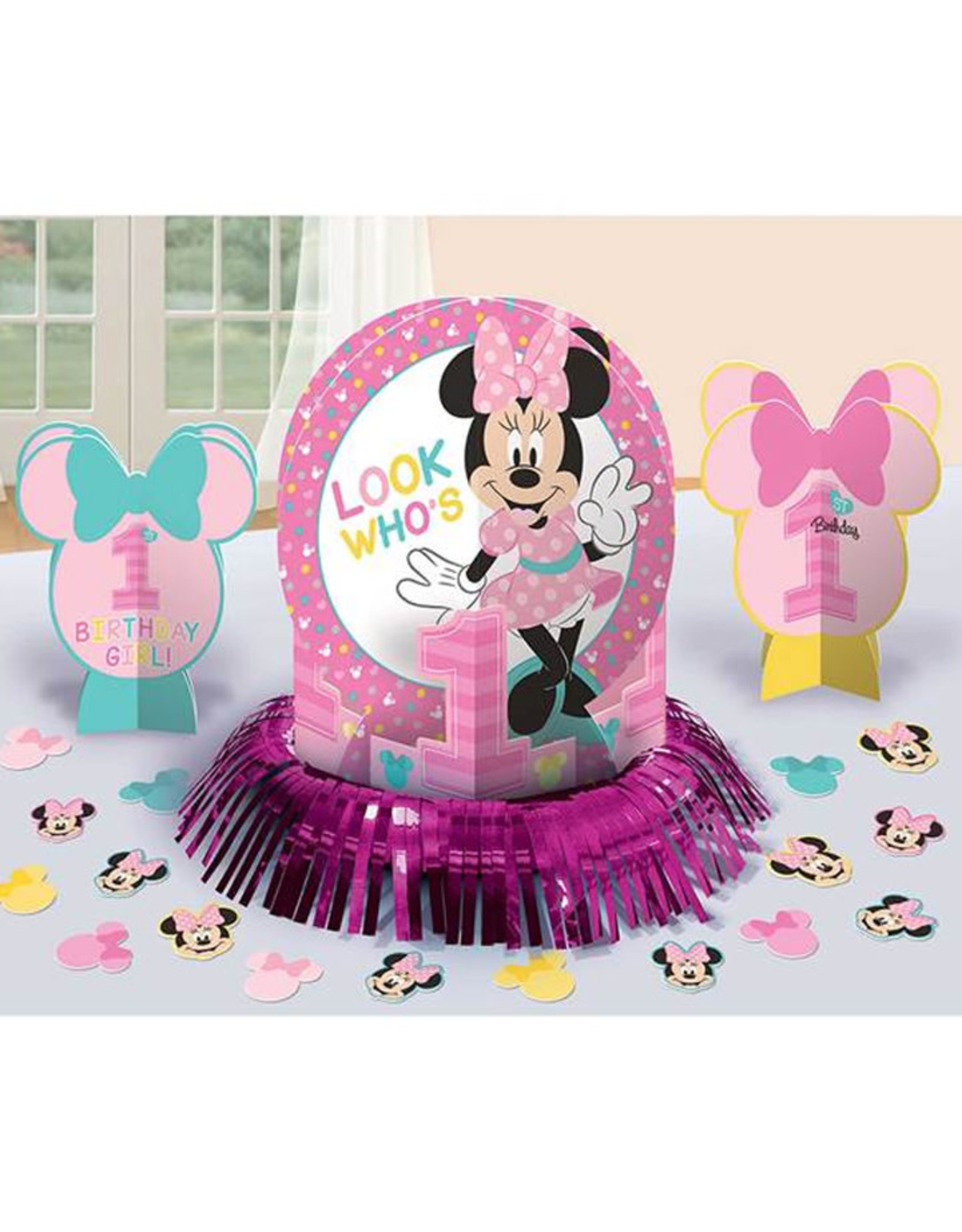 Minnie's Fun to Be One Table Decorations