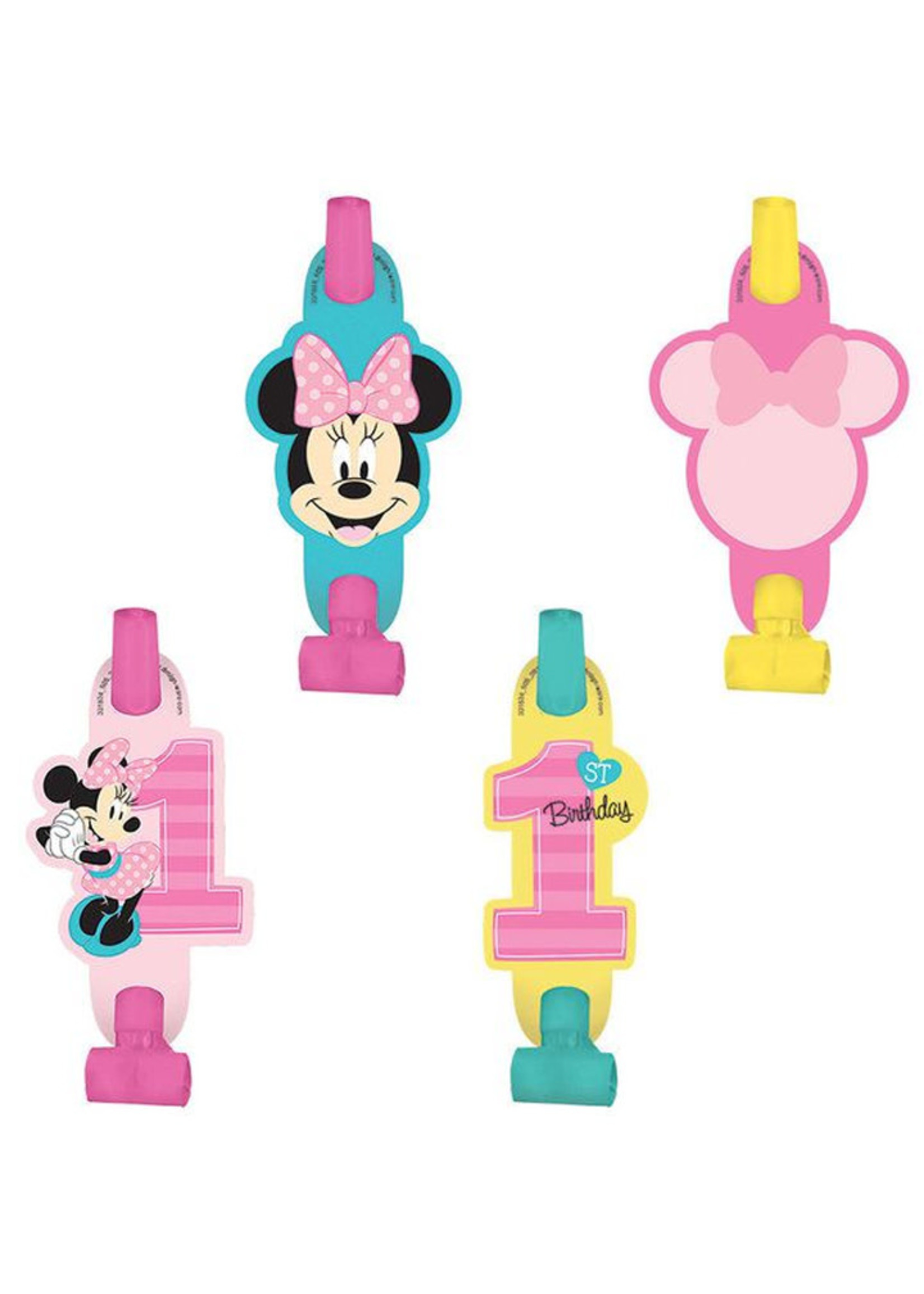 Minnie's Fun To Be One Blowouts - 8ct