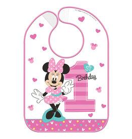 Minnie Fun To Be One Baby Vinyl Bib
