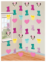 Minnie Fun To Be One String Decorations - 6ct