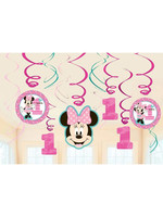 Minnie Fun To Be One Hanging Swirls - 12ct