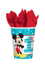 Mickey Fun To Be One 9oz Paper Cups - 8ct