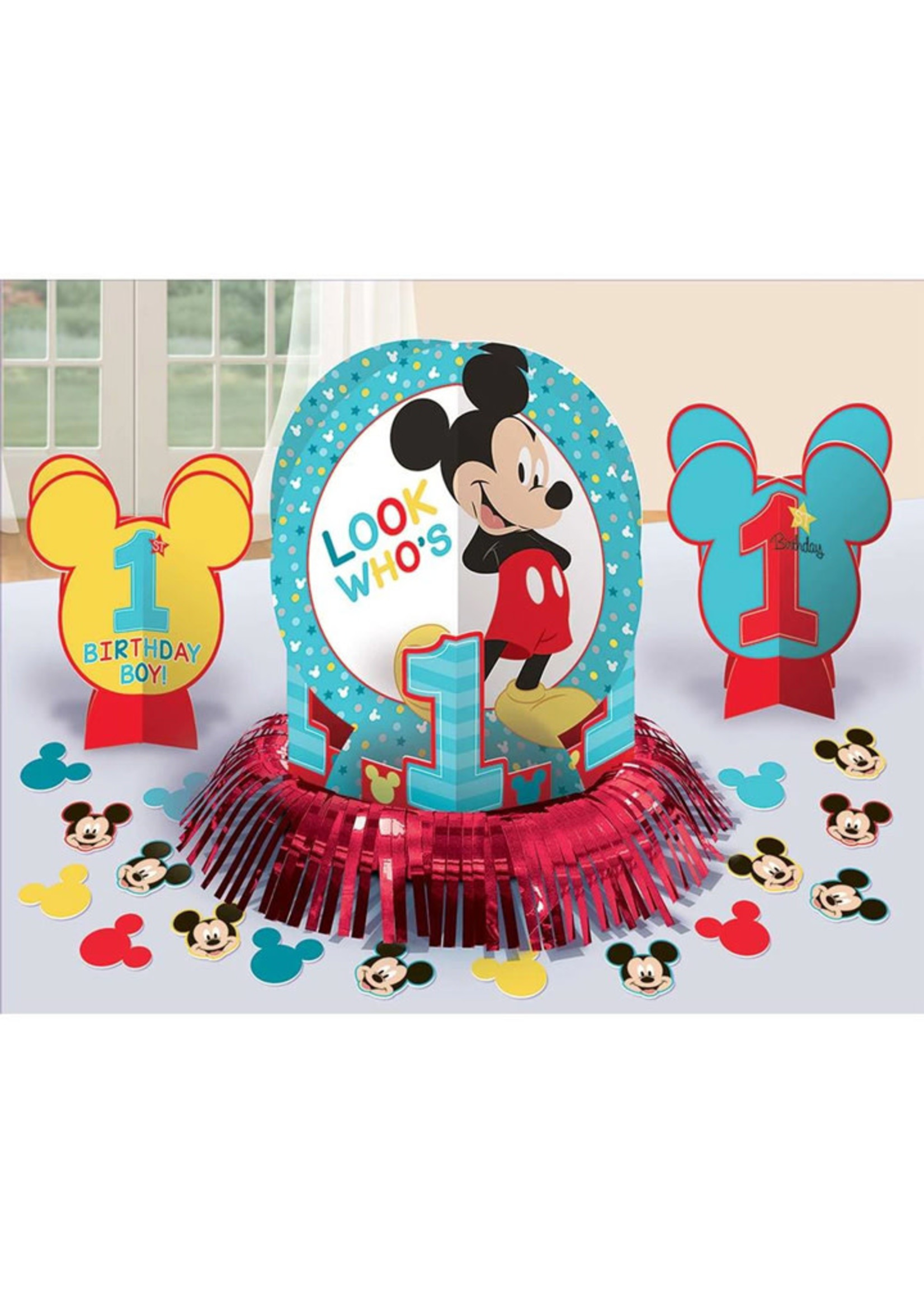 Mickey Fun To Be One Table Decorating Kit