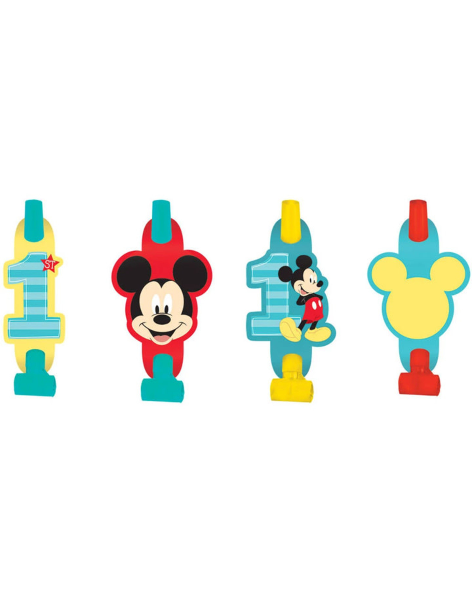Mickey Fun To Be One Blowouts - 8ct