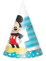 Mickey Fun To Be One Party Hats - 8ct