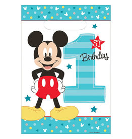 Mickey Fun To Be One Loot Bags - 8ct