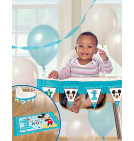 Mickey Fun To Be One High Chair Decorating Kit