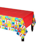 Elmo Turns One Plastic Table Cover