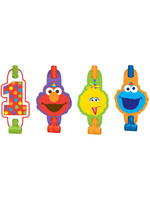Elmo Turns One Blowouts - 8ct