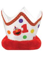 Elmo Turns One Novelty Crown