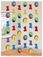 Elmo Turns One Stringers - 6ct