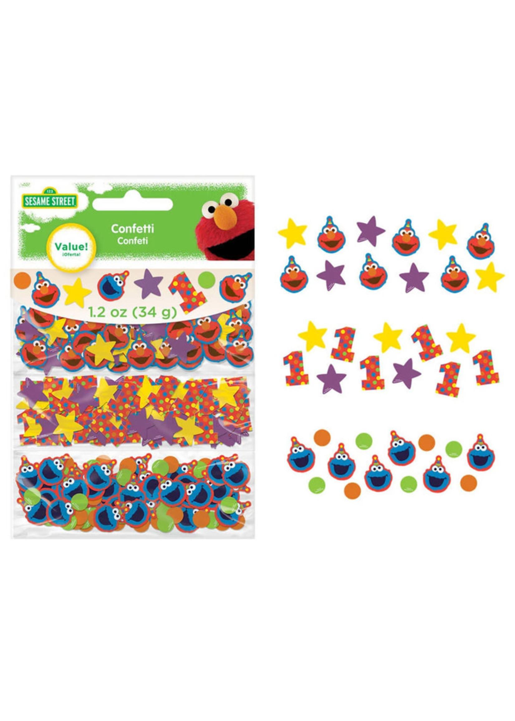 Elmo Turns One Confetti Pack