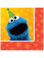 Sesame Street Beverage Napkins - 16ct