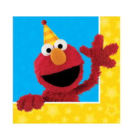 Sesame Street Luncheon Napkins - 16ct